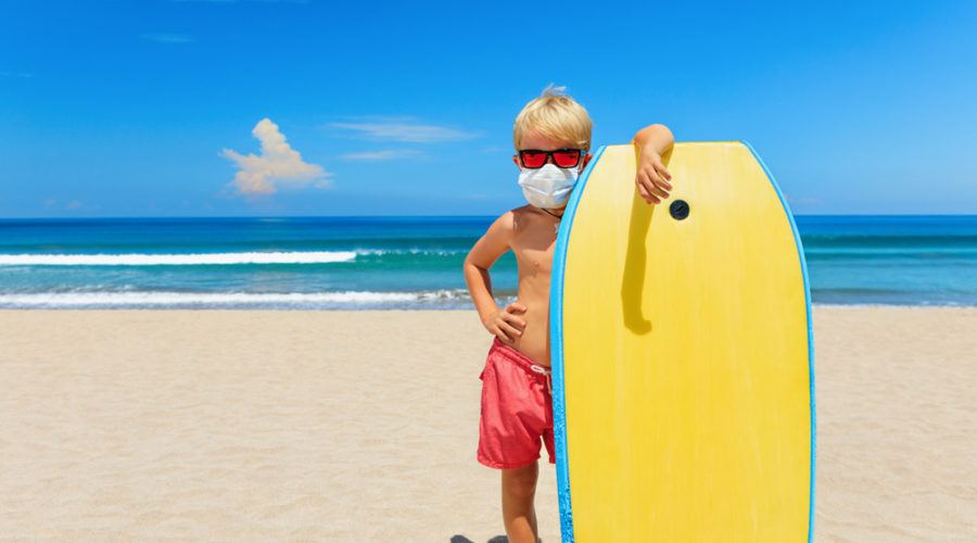 Social Distancing On The Sand: When (And How) Will It Be Safe to Take a Surf Trip?